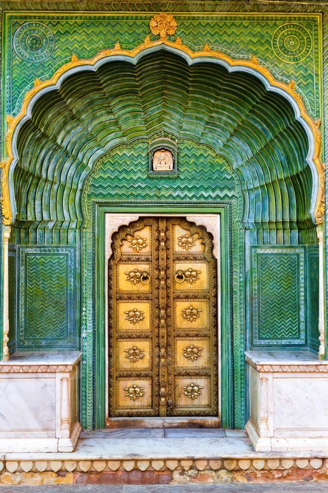 Jaipur Stadtpalast Tor foto