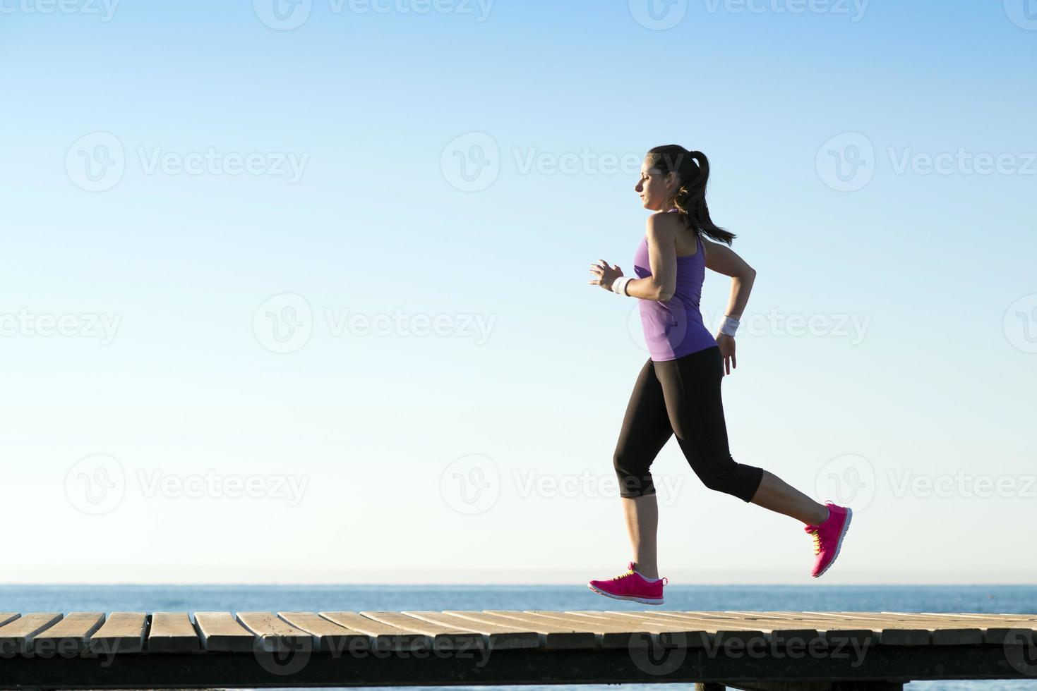 Outdoor-Läufer foto