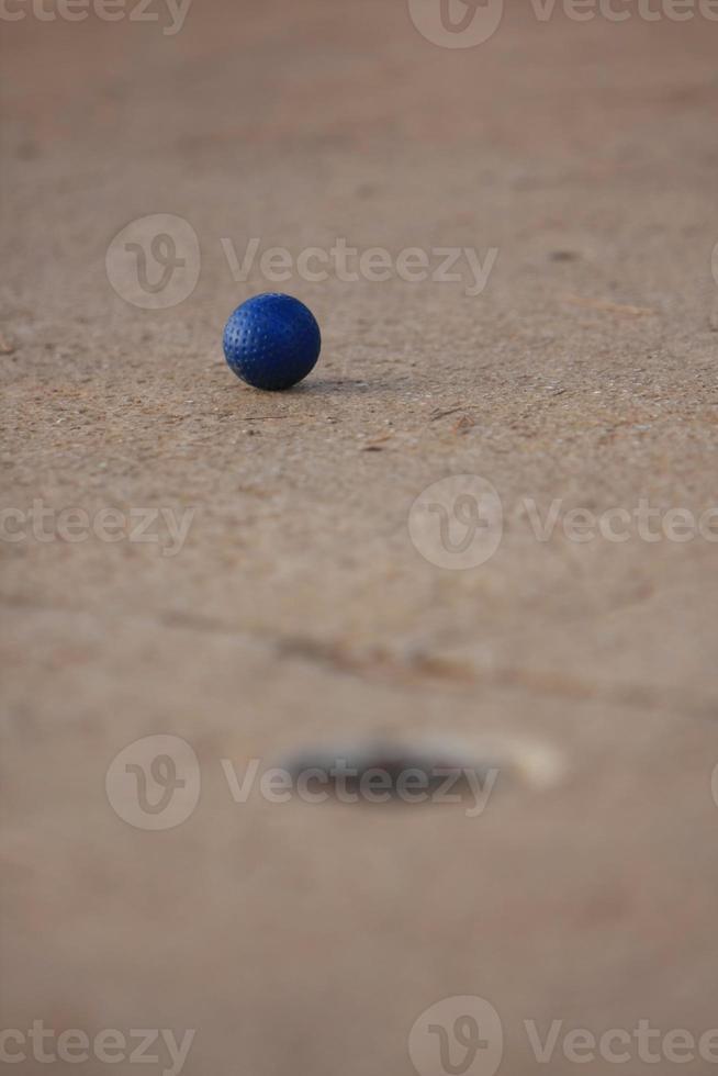 Minigolfball foto