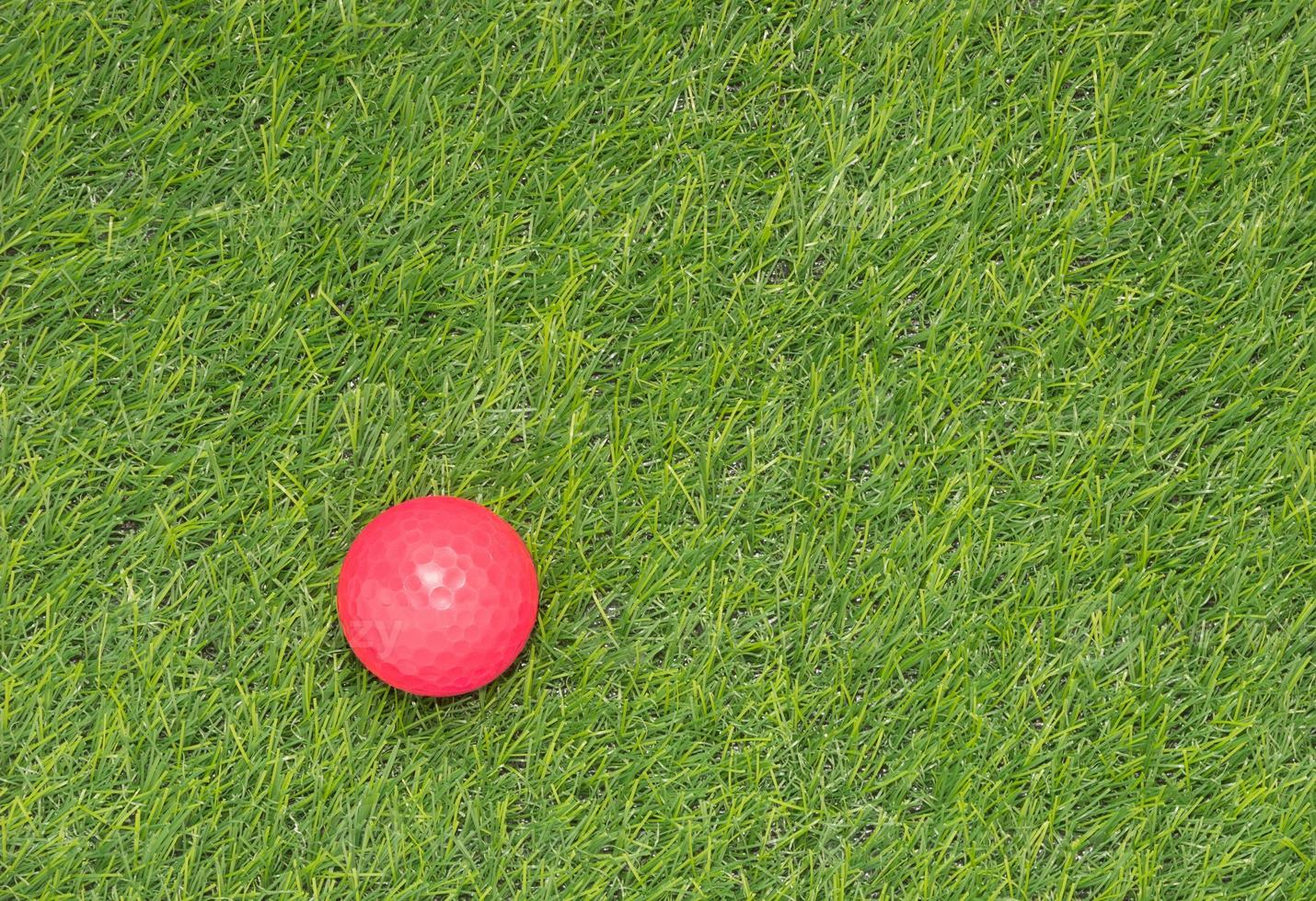 rosa Golfball foto