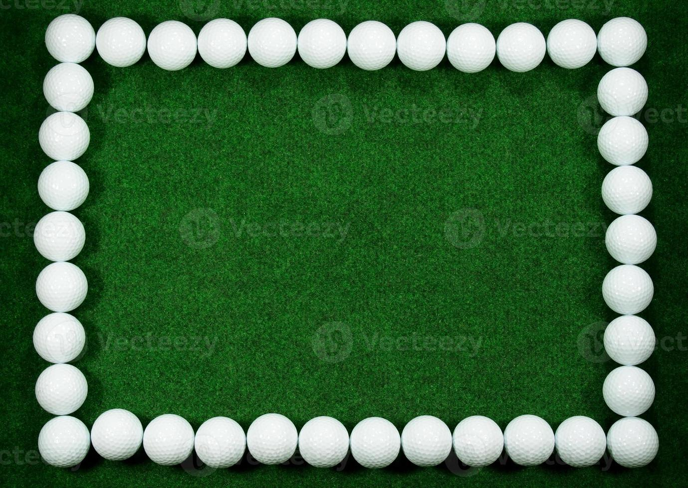 Golfrahmen foto