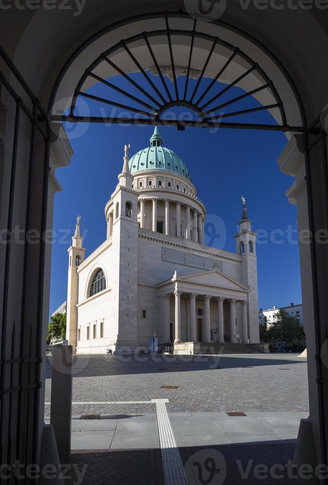 st. nicholas kirche (nikolaikirche), potsdam, deutschland foto