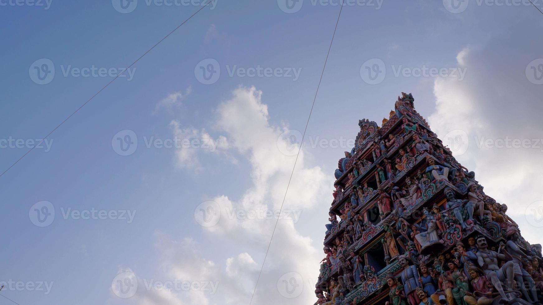 Sri Mariamman Tempel foto