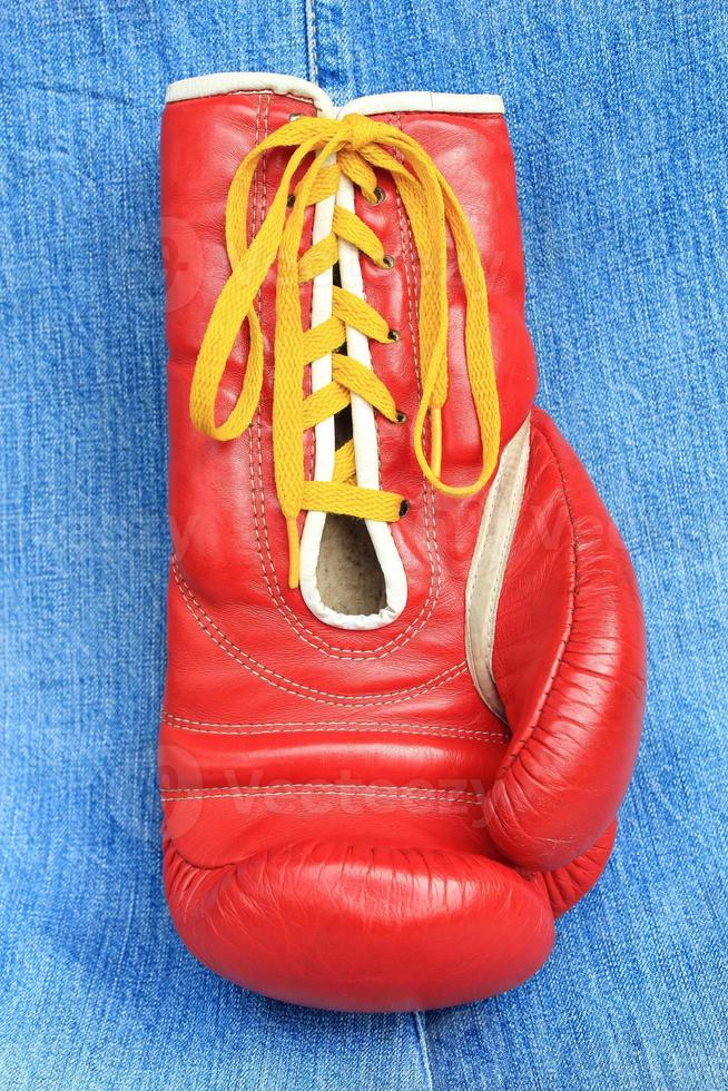 Boxhandschuh foto