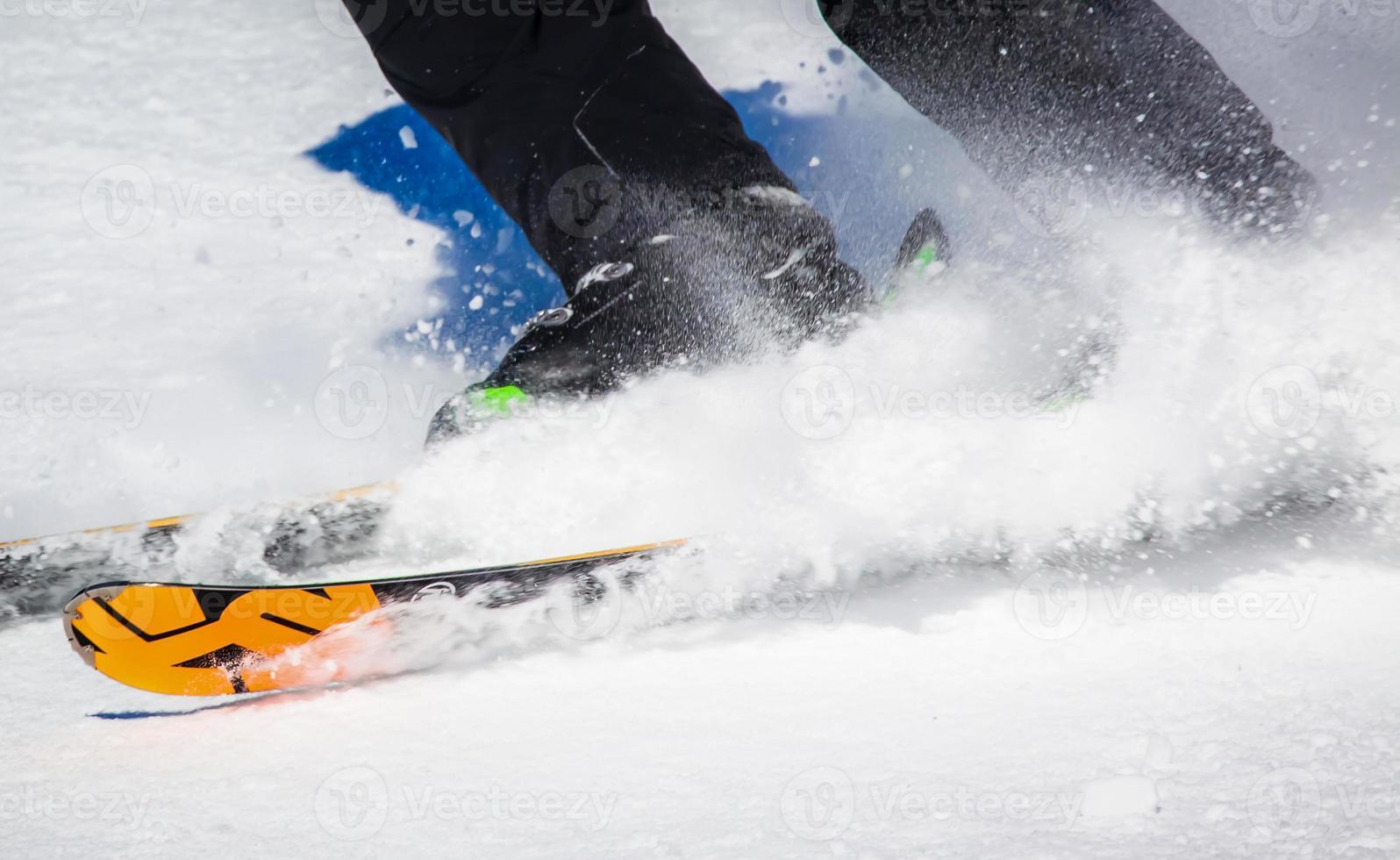 Skifahren foto