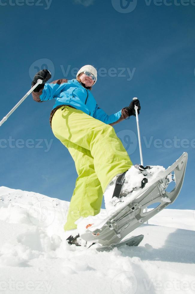 Schneeschuhwandern foto
