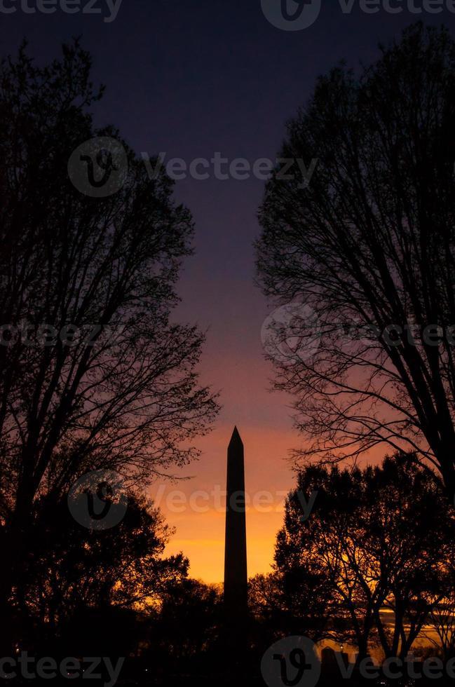Washington DC Sonnenuntergang foto