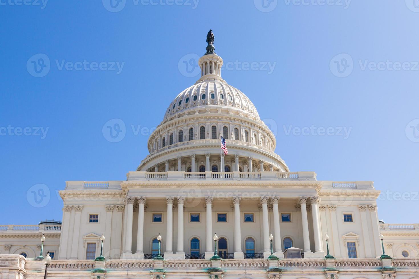uns Kapitol Gebäude in Washington DC foto