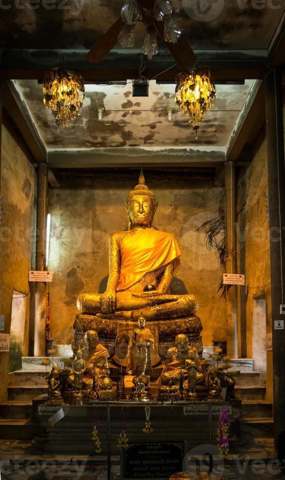 Buddha-Statue, Bangkok Thailand foto