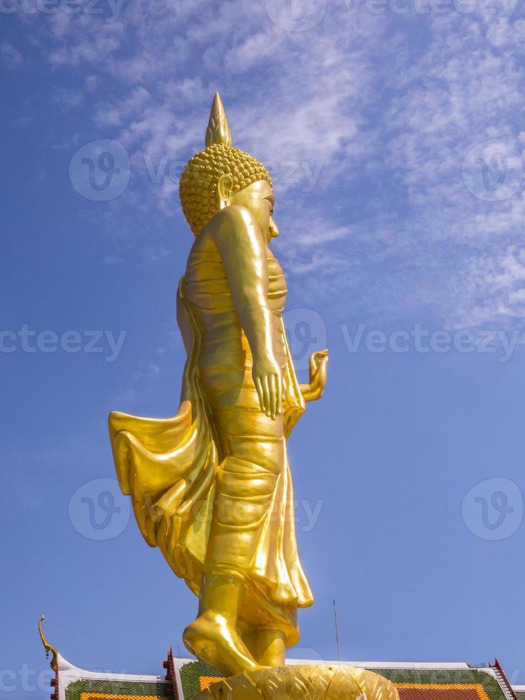 Stehender Buddha, Bangkok, Thailand foto
