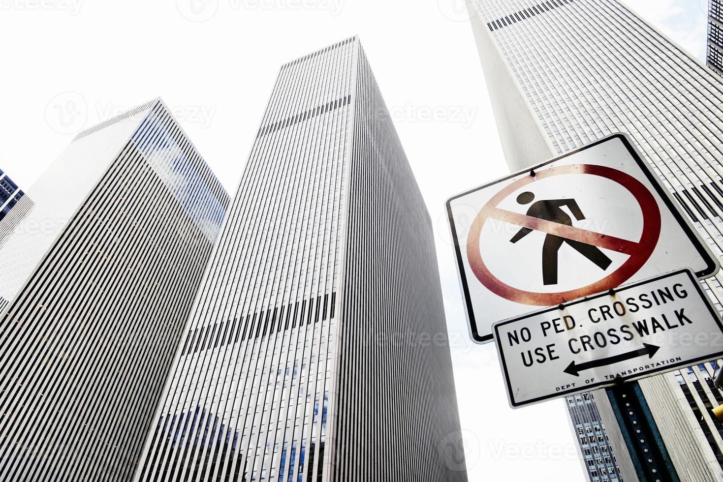Wolkenkratzer, New York foto