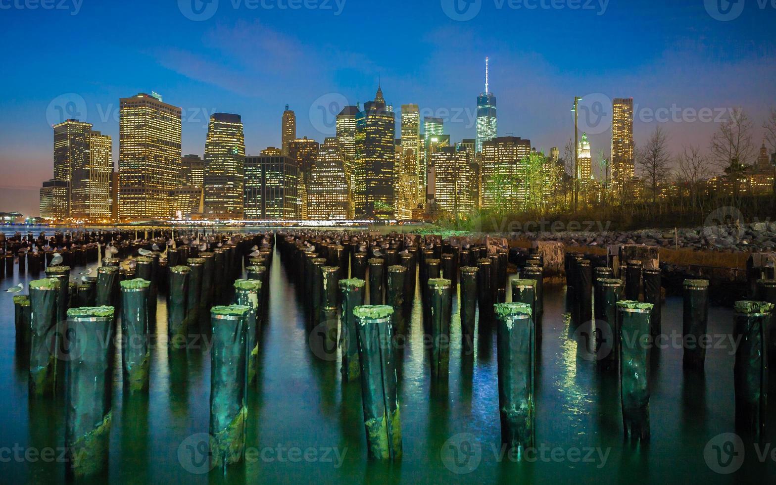 alter Pier in Brooklyn foto