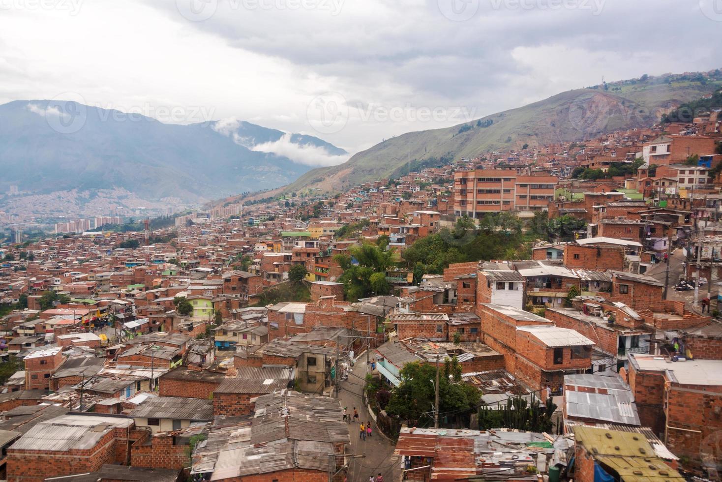 Medellin Slums foto