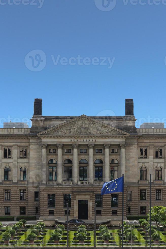 außen des deutschen bundesrats. (Bundesrat) foto