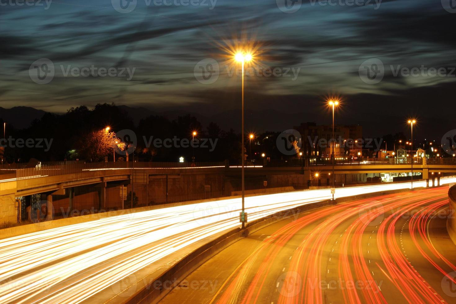 langsame Fahrt auf dem i25 foto