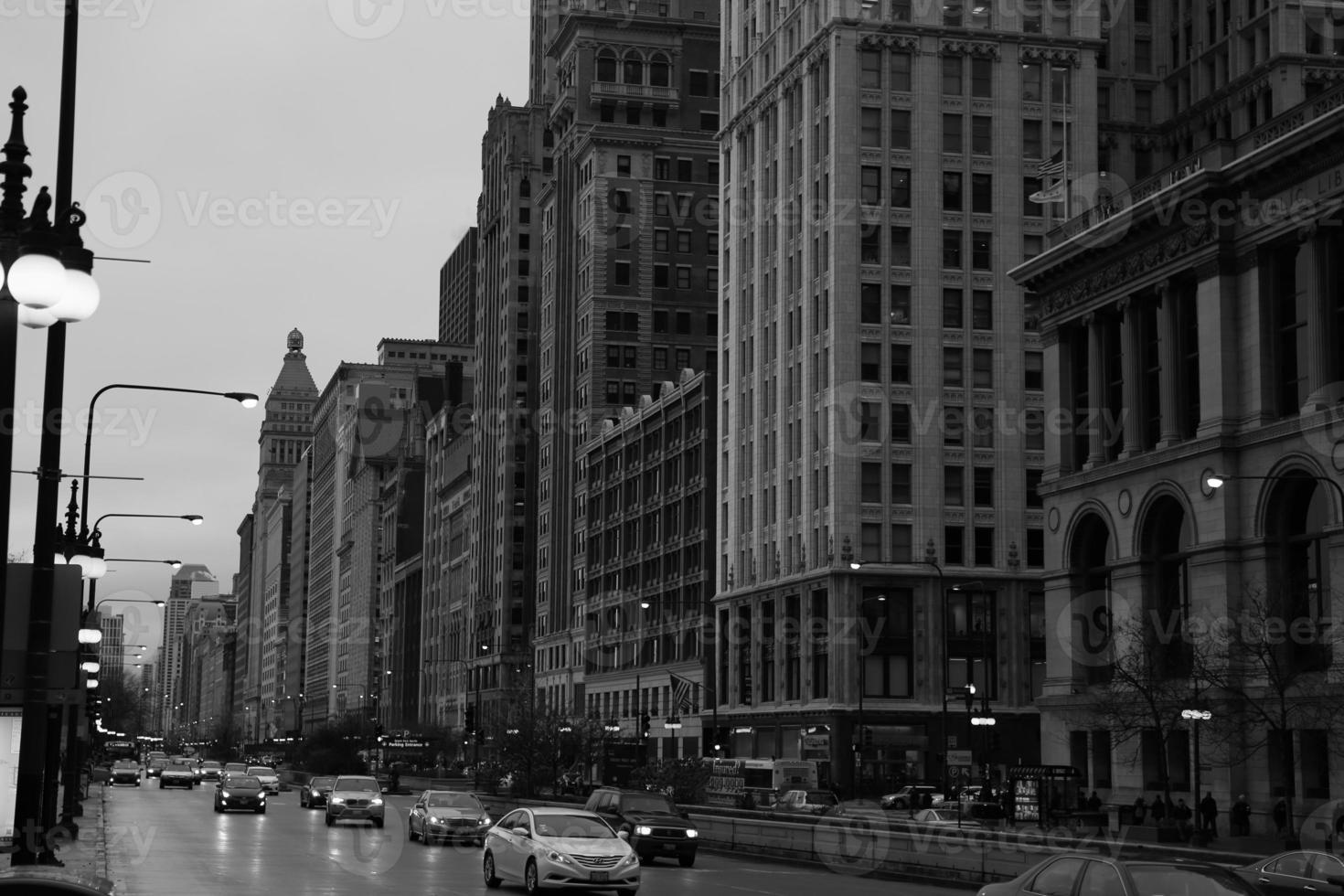 Innenstadt von Chicago foto