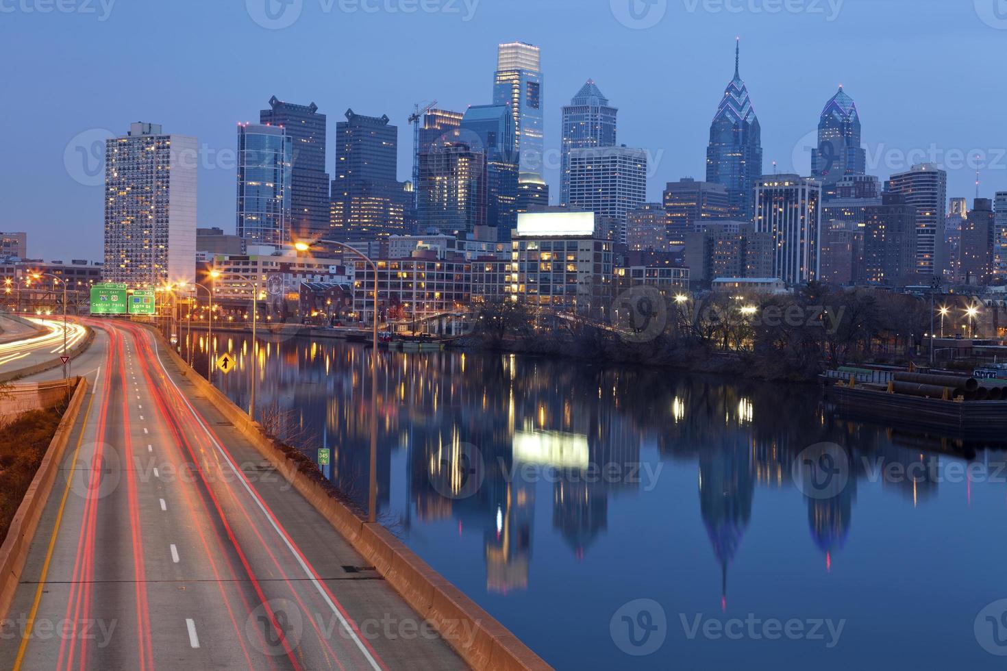 Stadt von Philadelphia. foto