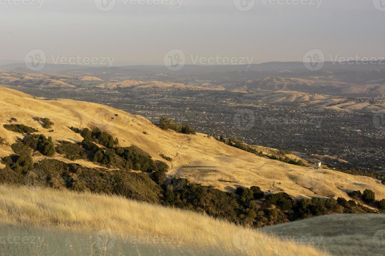 East San Jose bei Sonnenuntergang foto