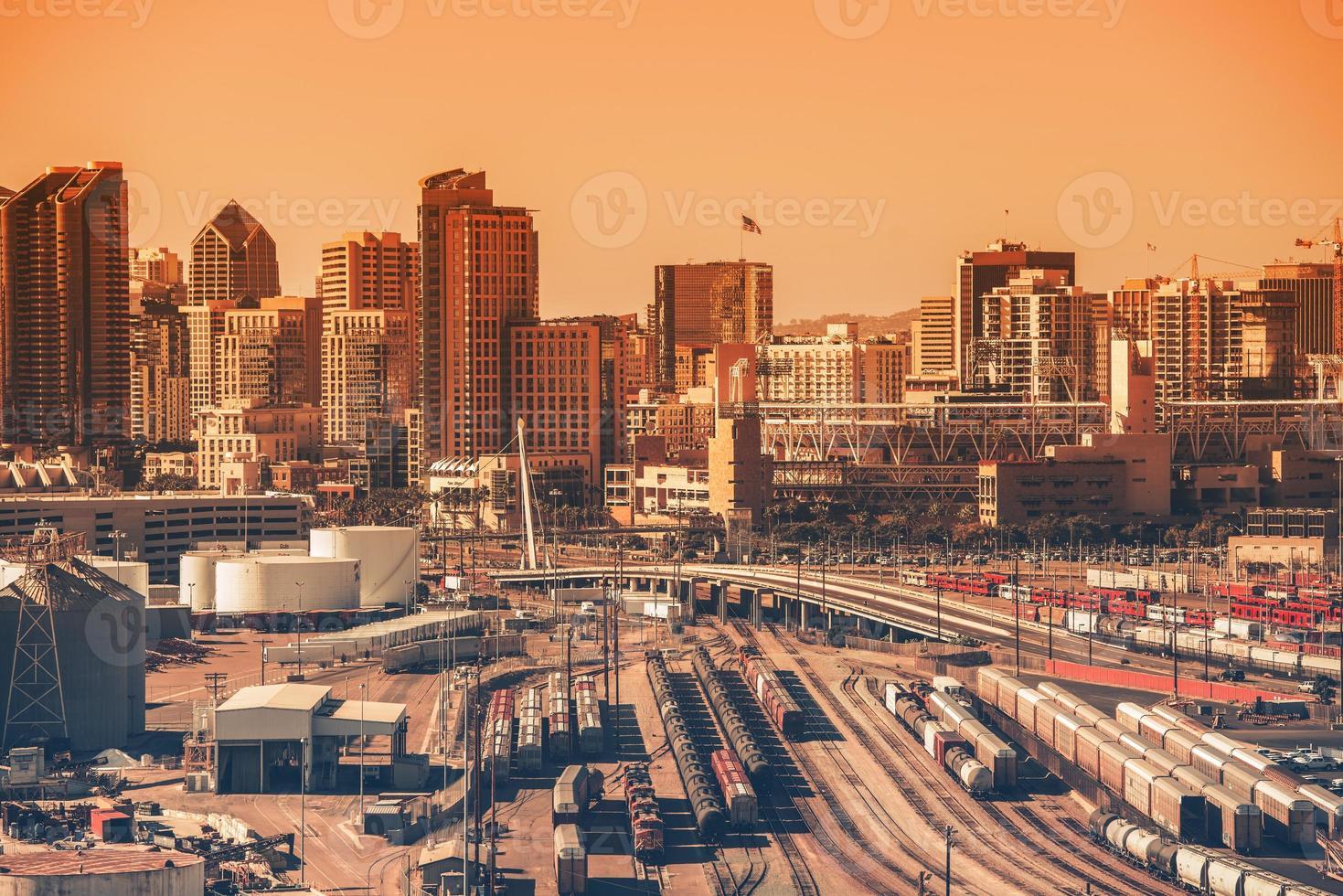 Innenstadt von San Diego foto