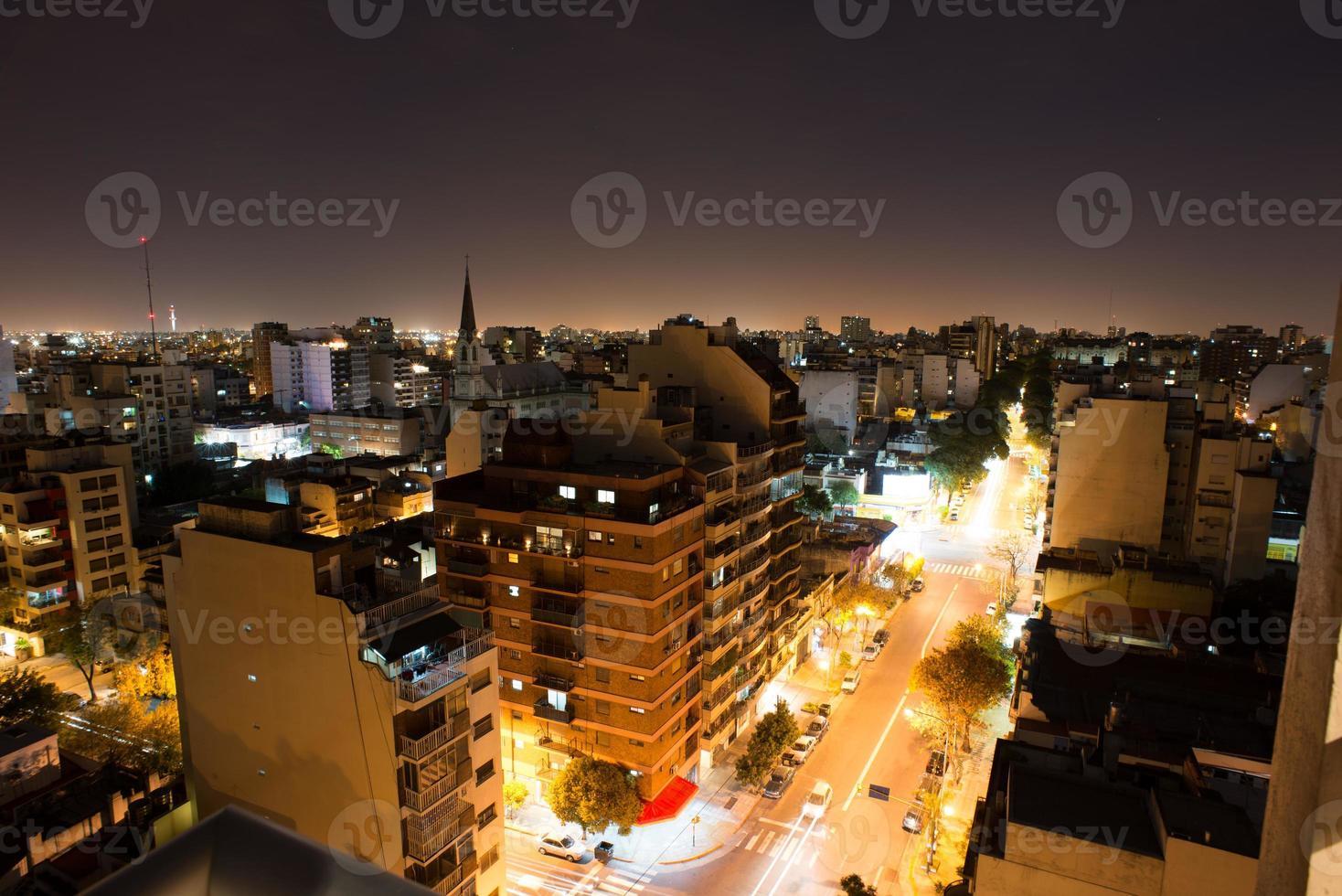 Buenos Aires Nacht foto
