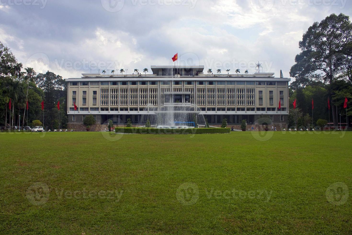 Palast der Wiedervereinigung in der Stadt Ho Chi Minh foto
