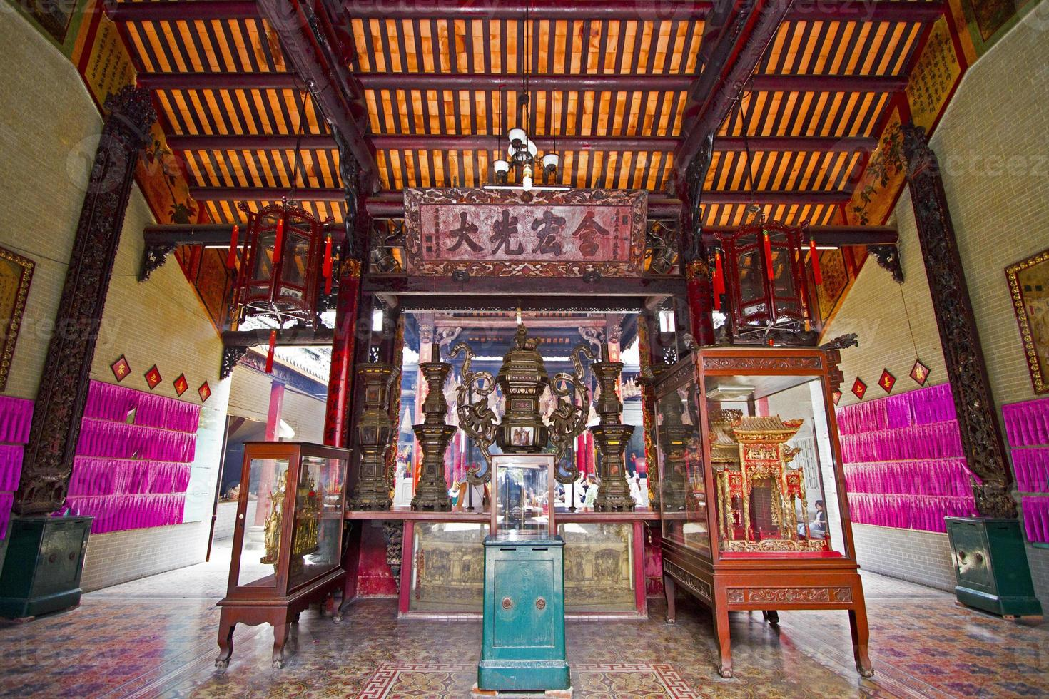 chinesischer tempel - ho chi minh stadt, vietnam foto