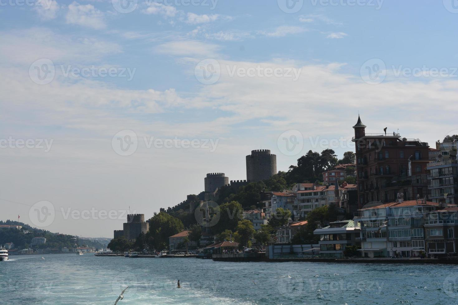 Bosporusbrücke in Istanbul foto