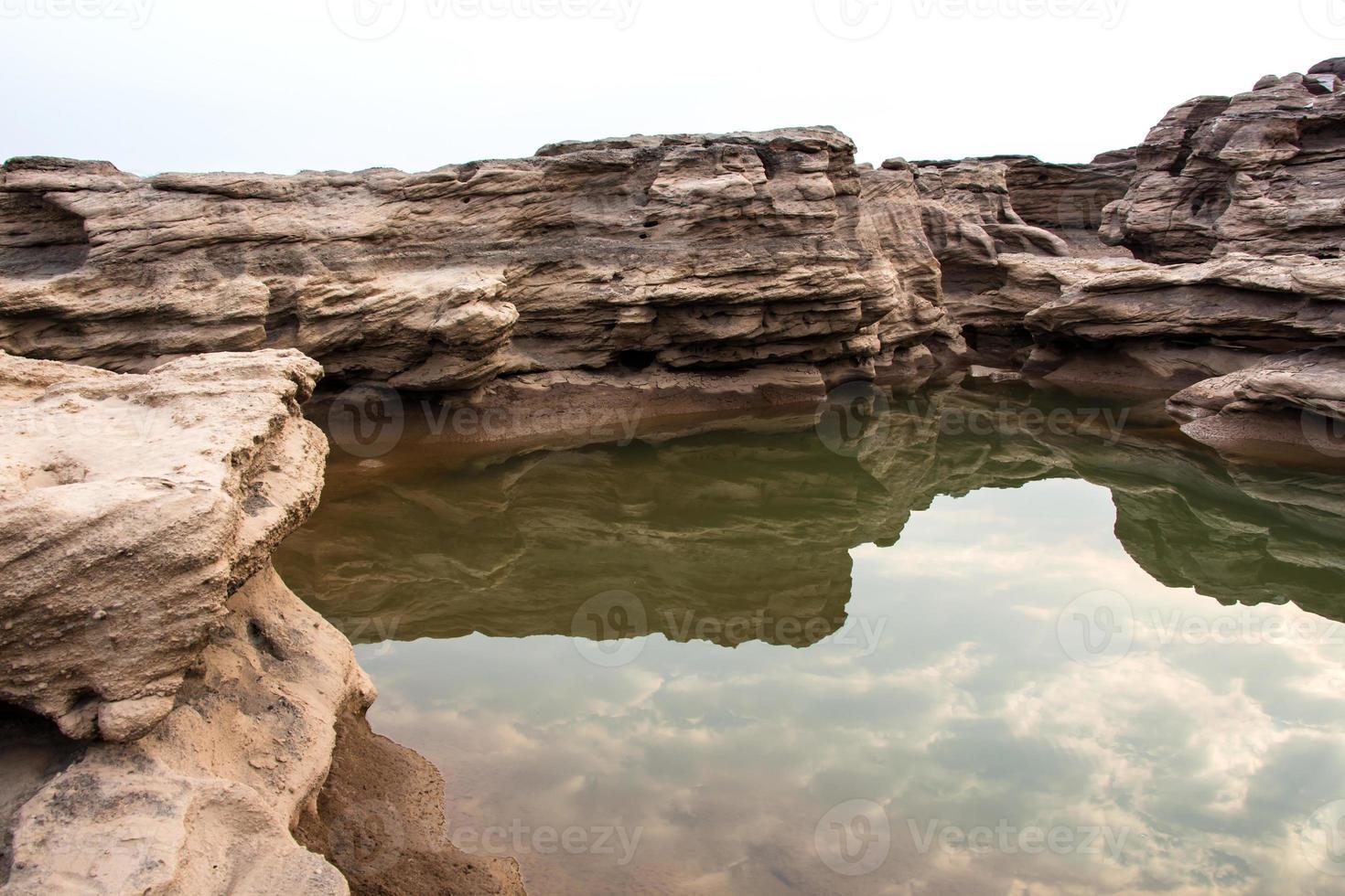 Sampanbok (3000 Loch), Ubon Ratchathani, Thailand. foto