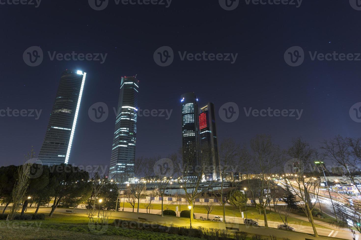 Türme in Madrid foto