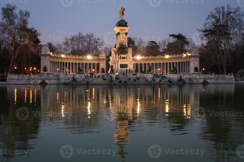 Retiro, Madrid, Spanien foto