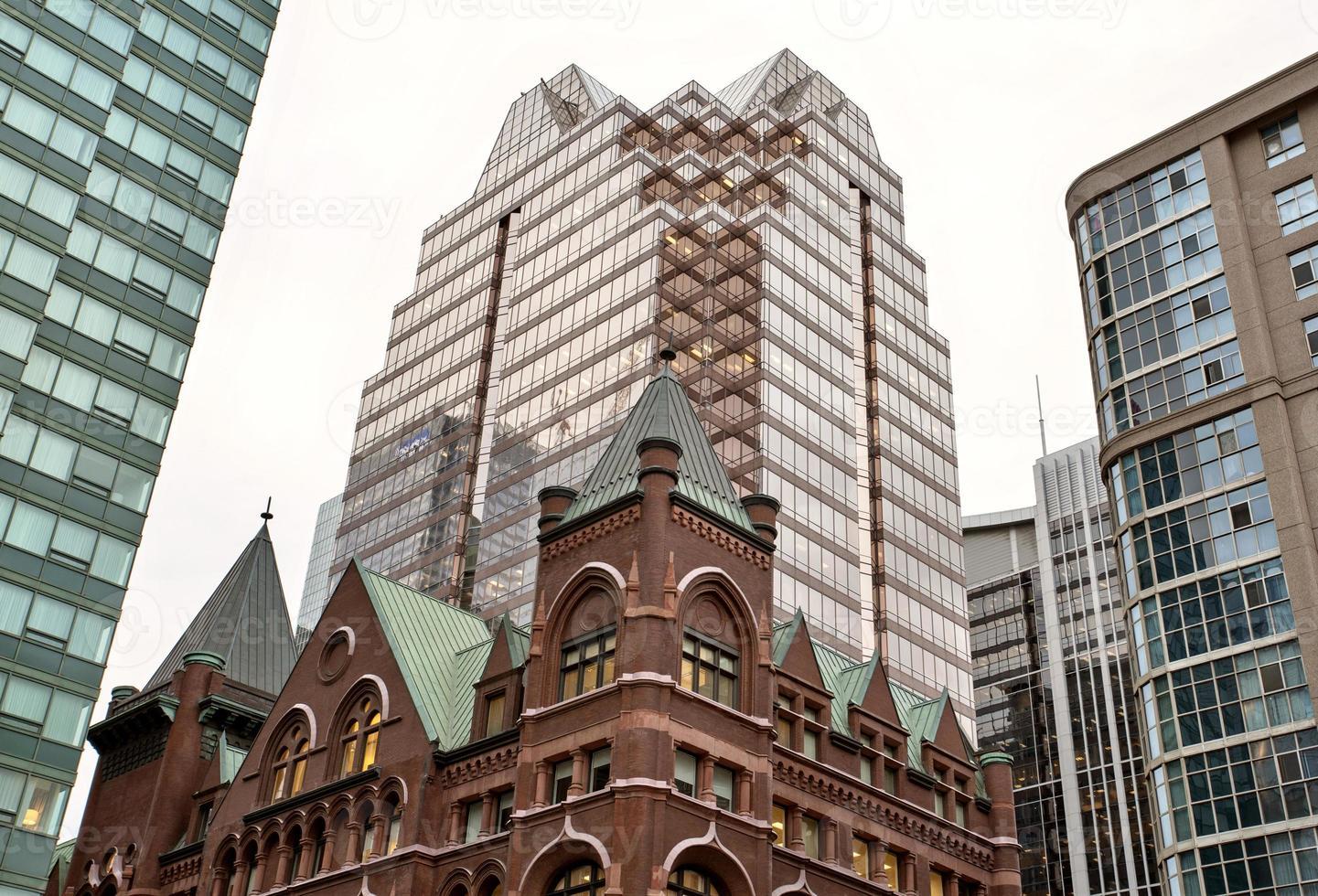 Gebäude alt und neu Toronto foto