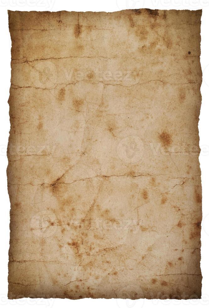 Textur auf Vintage-Papier foto