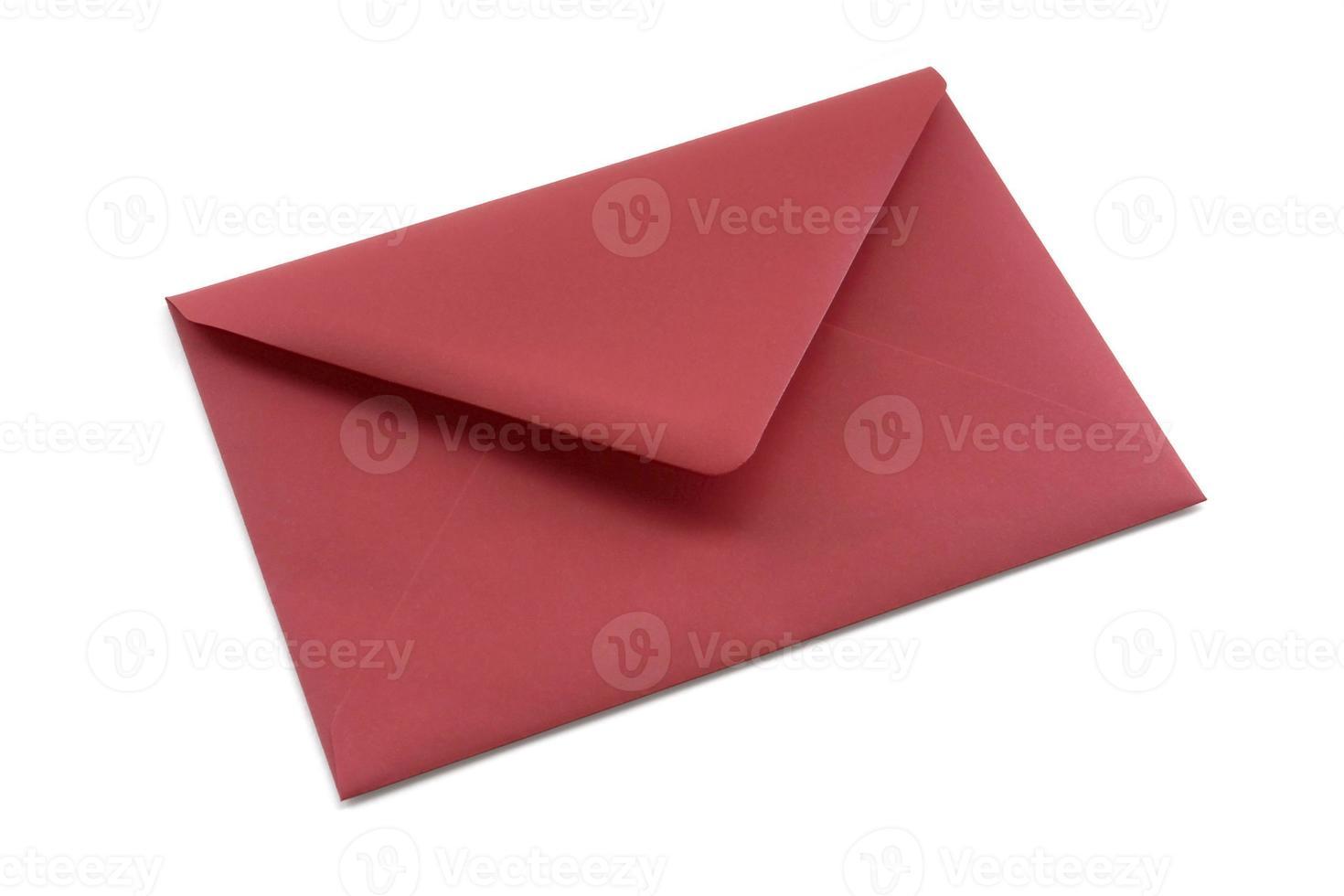 roter Umschlag foto
