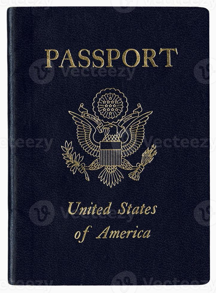 hochauflösender uns Reisepass foto