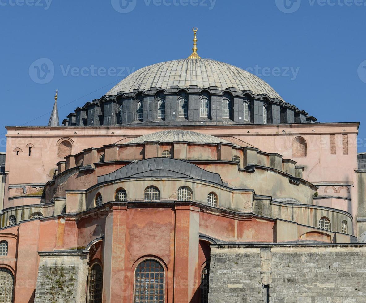 Hagia Sophia in Istanbul Truthahn foto
