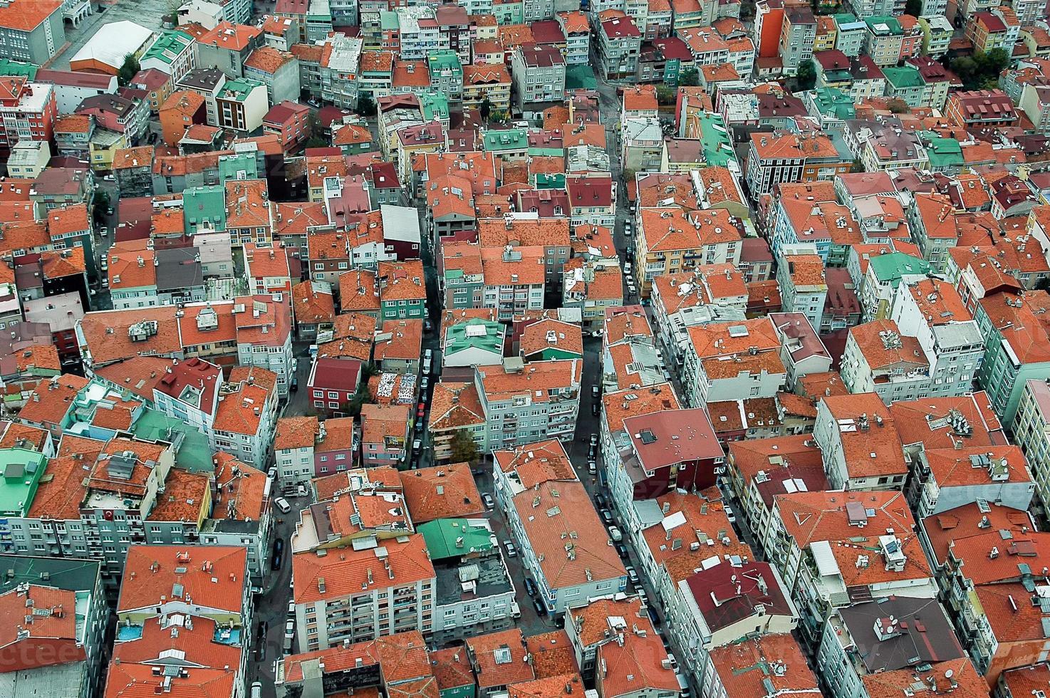 Häuser in Istanbul foto