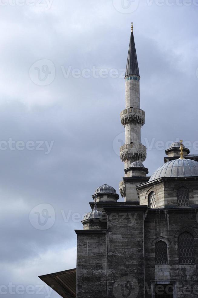 Moschee und Minarett foto