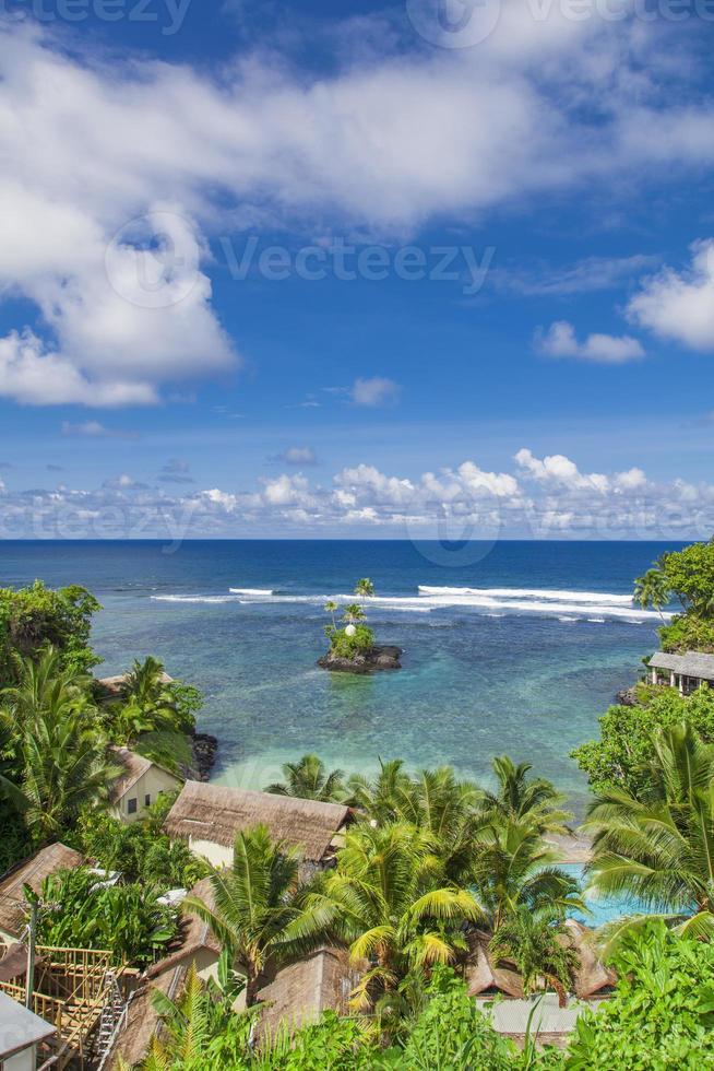 tropisches Samoa foto