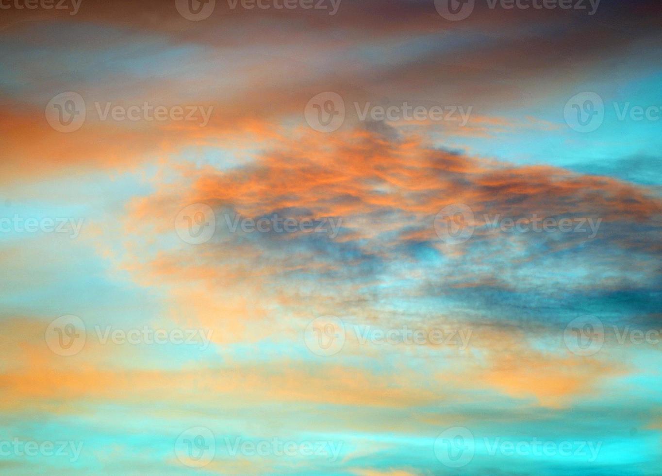 Sonnenuntergang Wolkenlandschaft foto