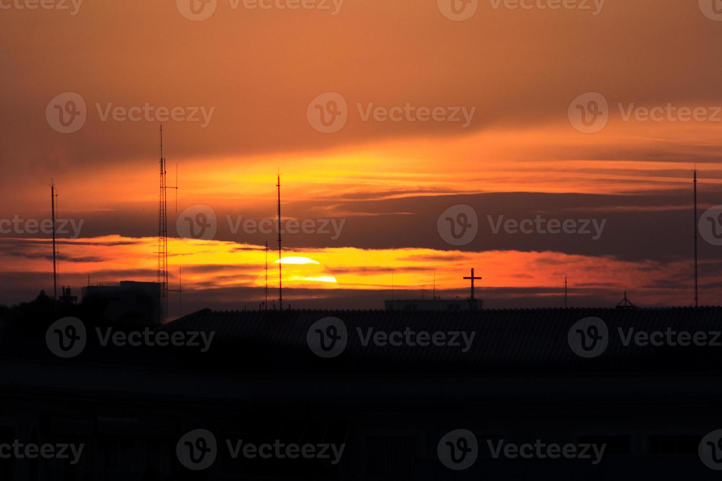 Sonnenuntergang Blick foto