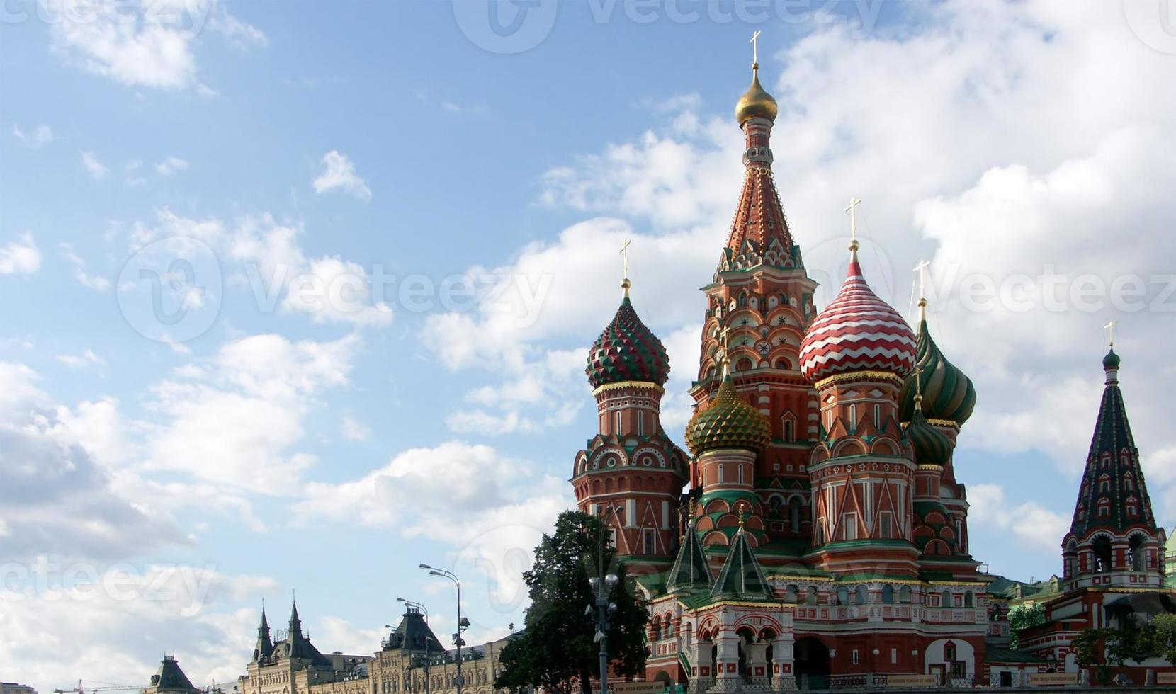 gesegnete Basilikum Kathedrale foto