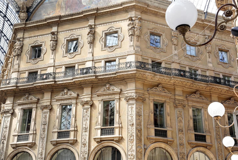 galleria vittorio emanuele ii, Einkaufspassage, Mailand, Italien foto