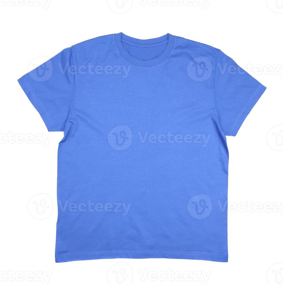 blaues T-Shirt für Männer. foto