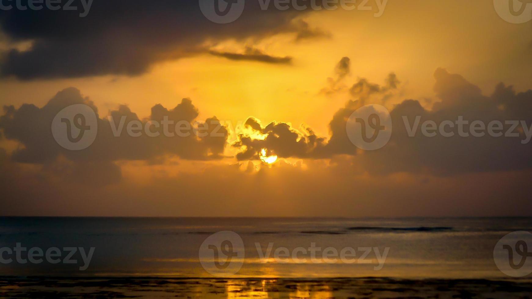 Sonnenuntergang in Mombasa foto
