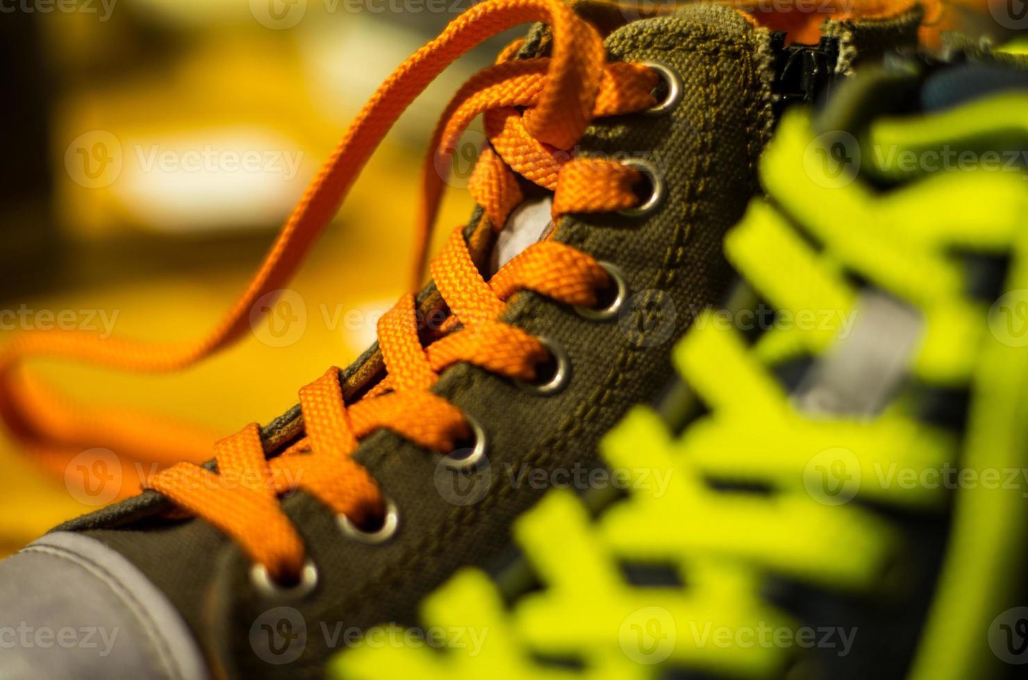 farbige Schuhe foto
