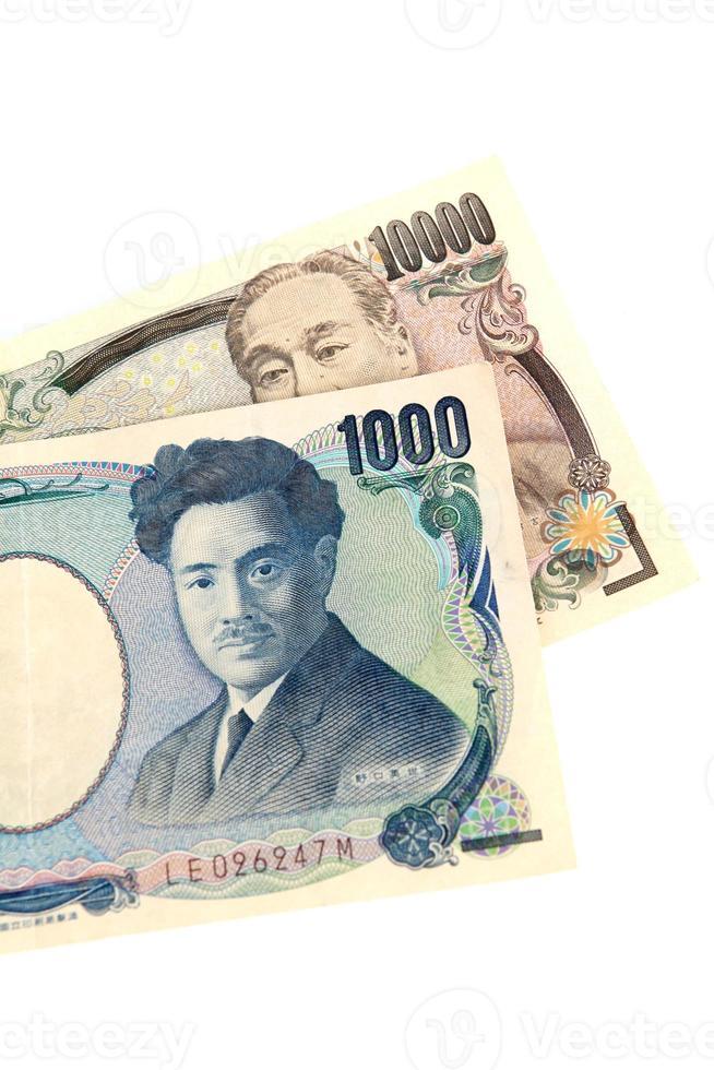 japanisches Geld foto