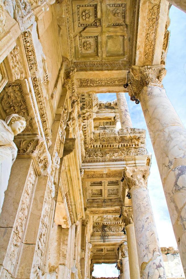 Bibliothek in Ephesus foto