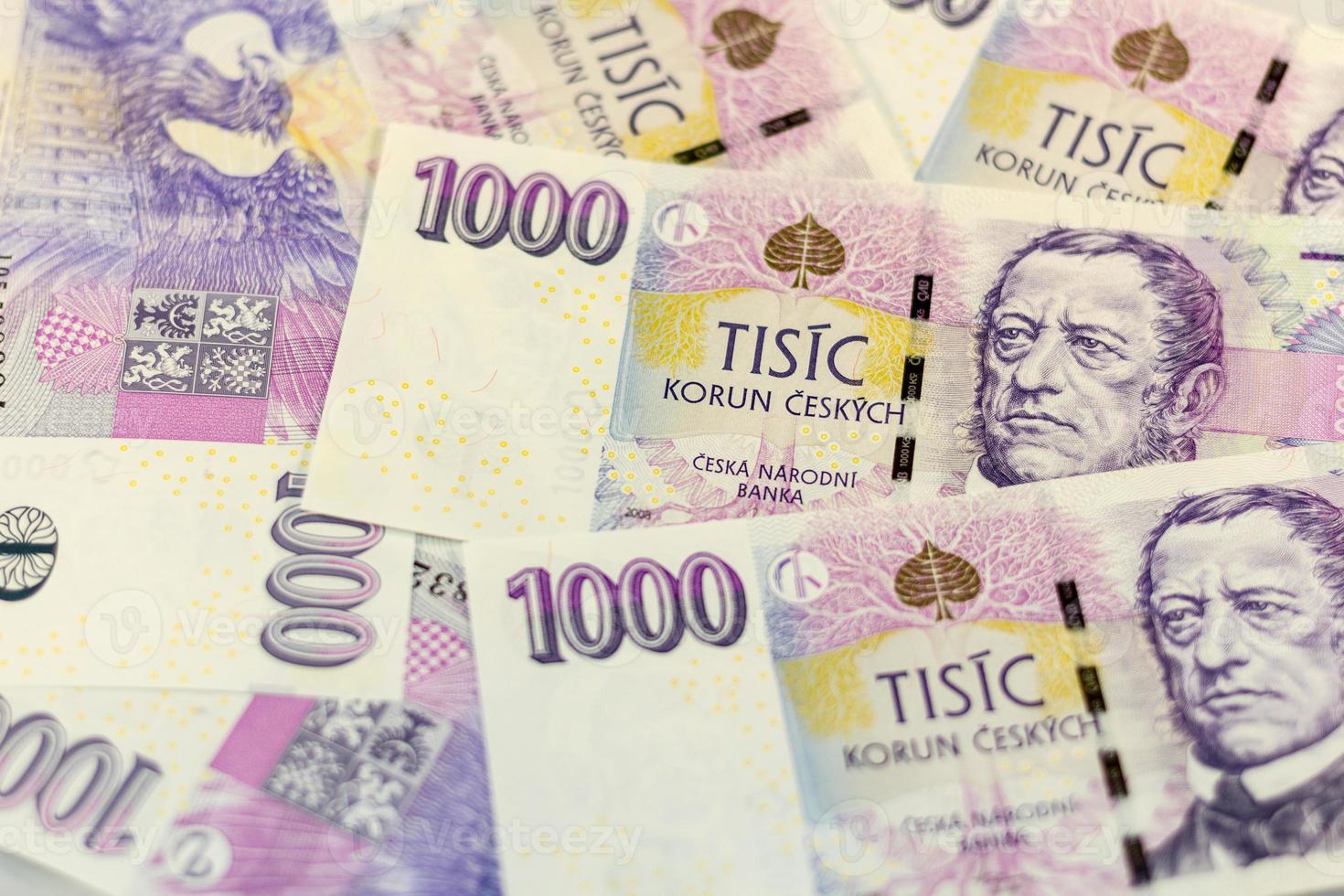 tschechisches Geld 1000 foto