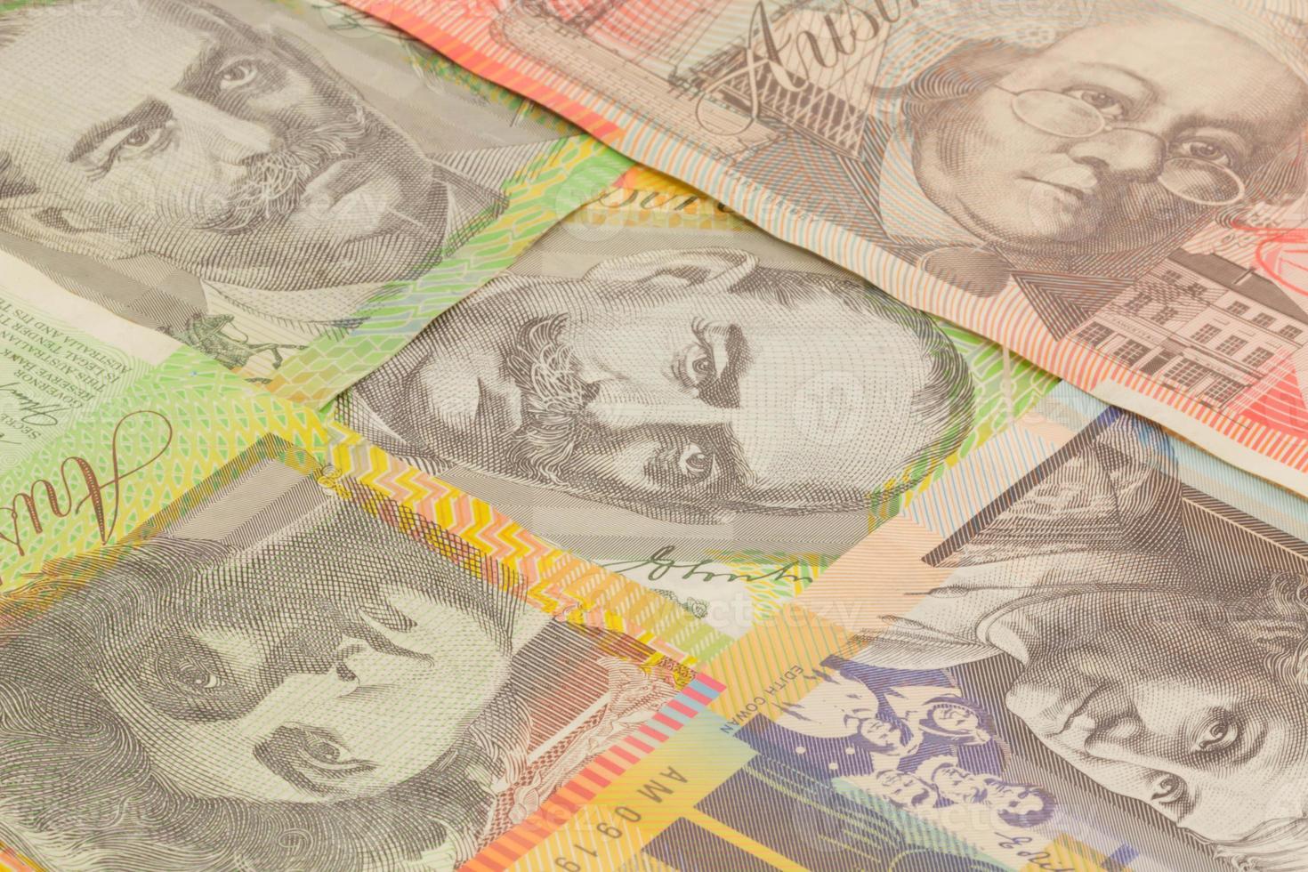 australische Währung foto