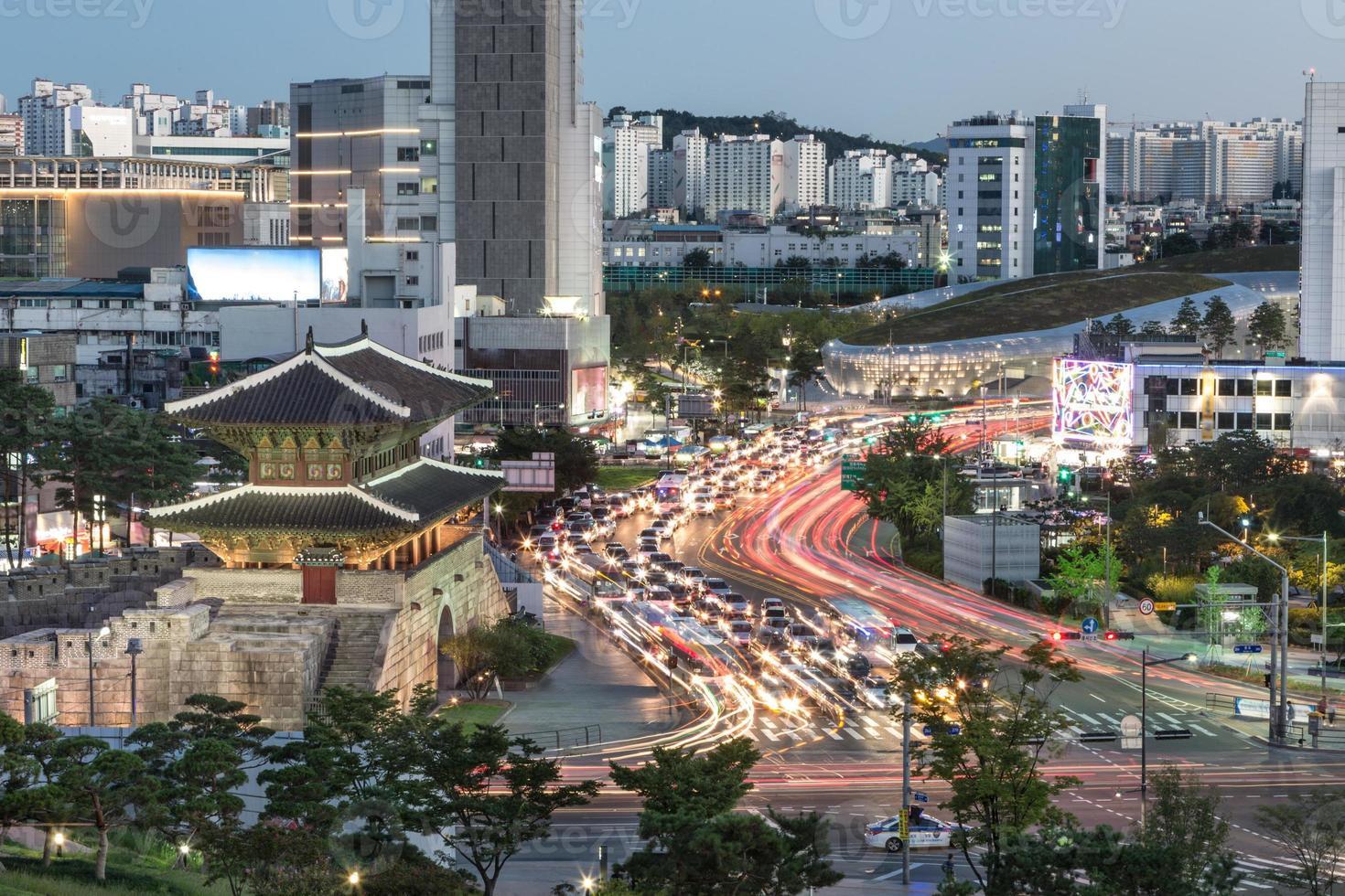 Heunginjimun Tor in Seoul foto